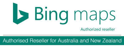 Bing Maps License Authorised Reseller for Australia and New Zealand