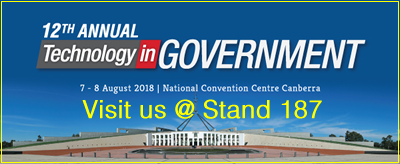 Envision IT Exhibiting at Technology in Government 2018, 07-08 Aug, National Convention Centre, Canberra
